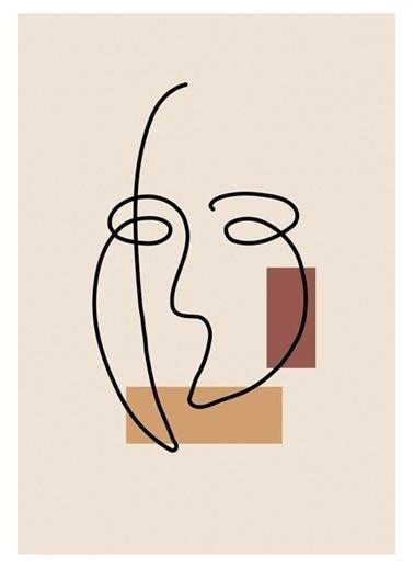 MarkaEv Canvas Modern Tablo 0175 Renkli
